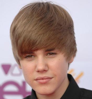 justin bieber wig. Bieber Bangs