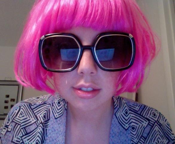 Closer Pink Wig